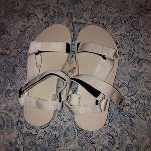 Pink Victoria secret sandals